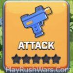 attack button rush wars