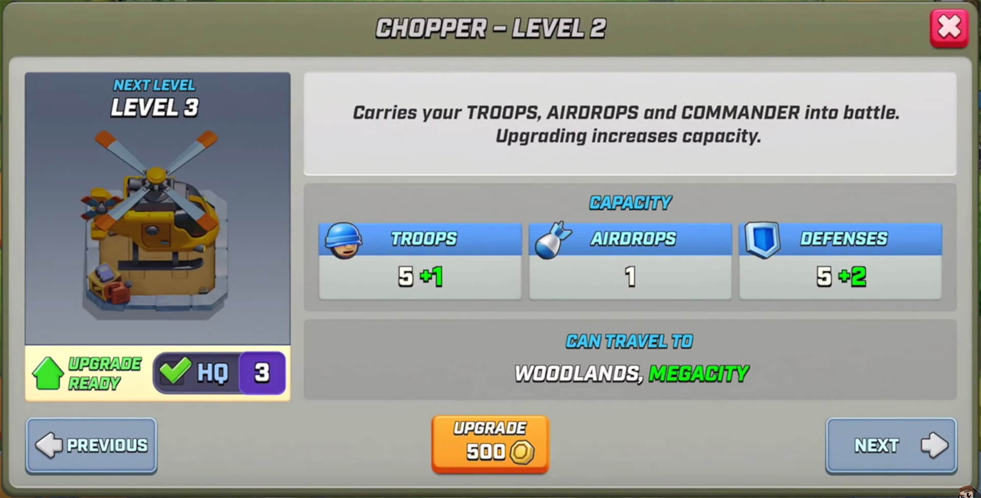 upgrading chopper