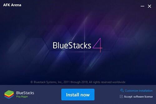 install bluestacks 4