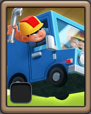 plumber van rush wars