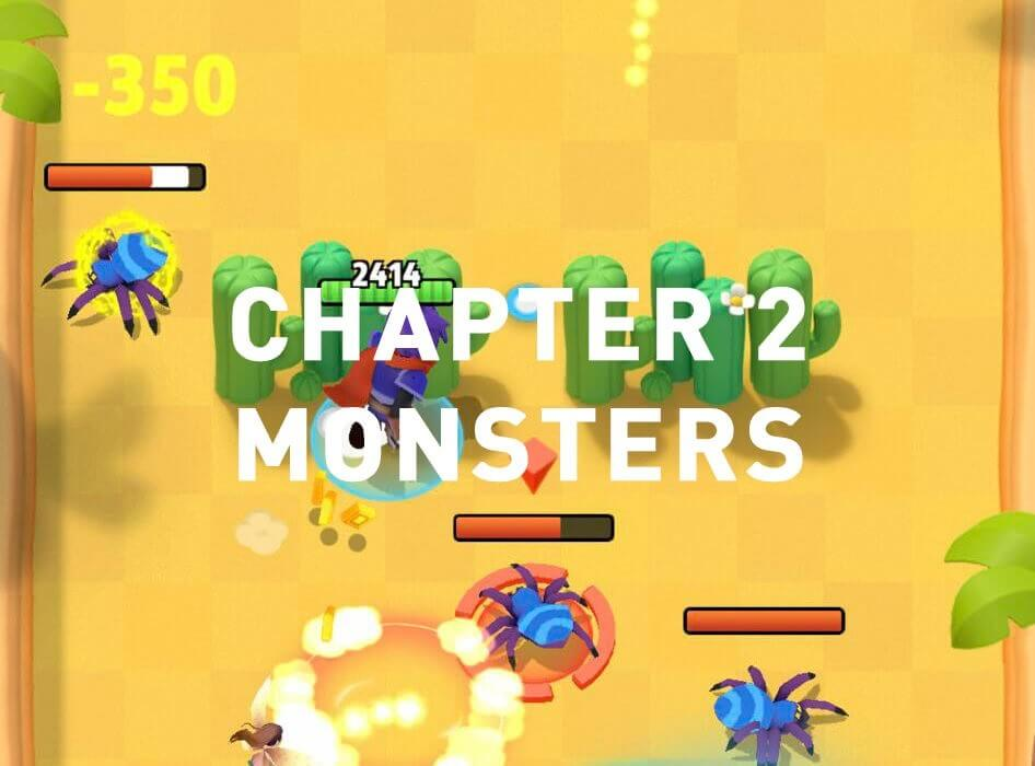 archero chapter 2 monsters