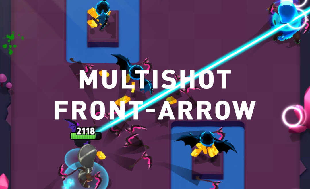 multishot front-arrow