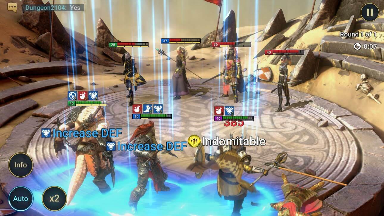 raid shadow legends pc gamelay