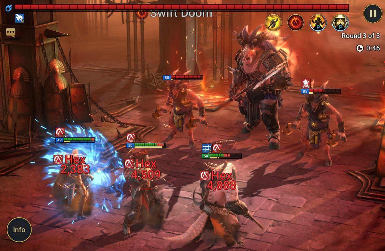 minotaurs labyrinth boss