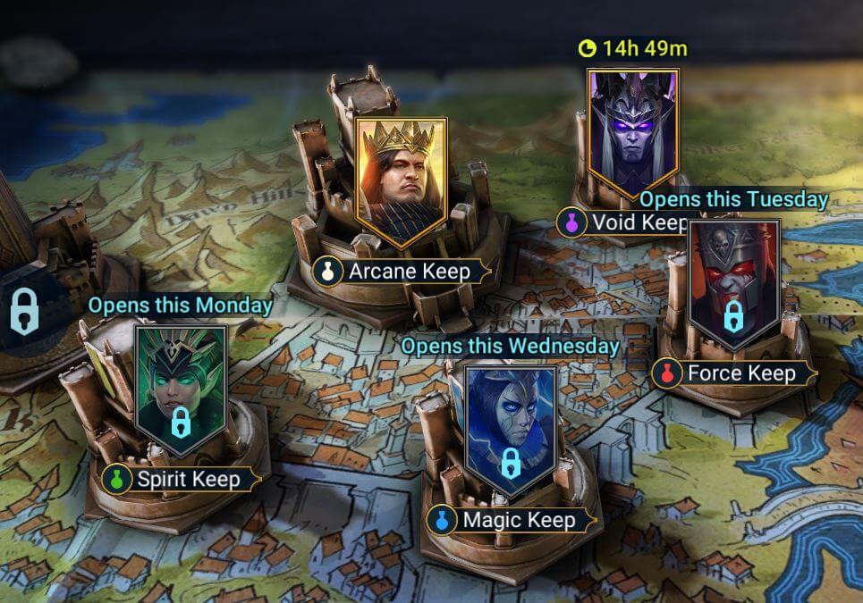 potion dungeon raid shadow legends