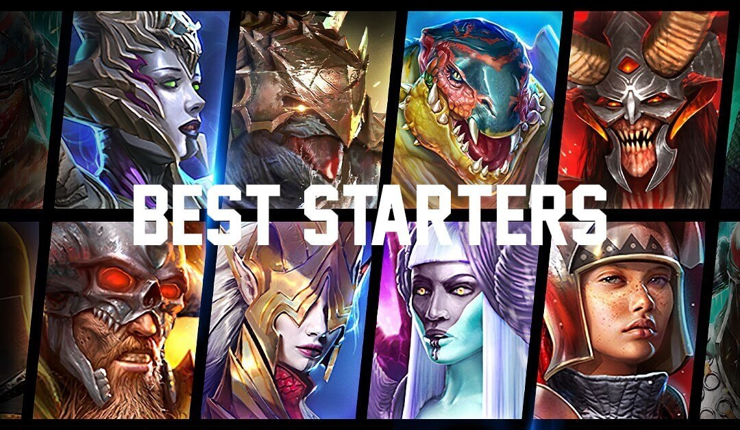 Best Starter Champions in RAID Shadow Legends
