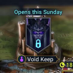 void keep raid shadow legends