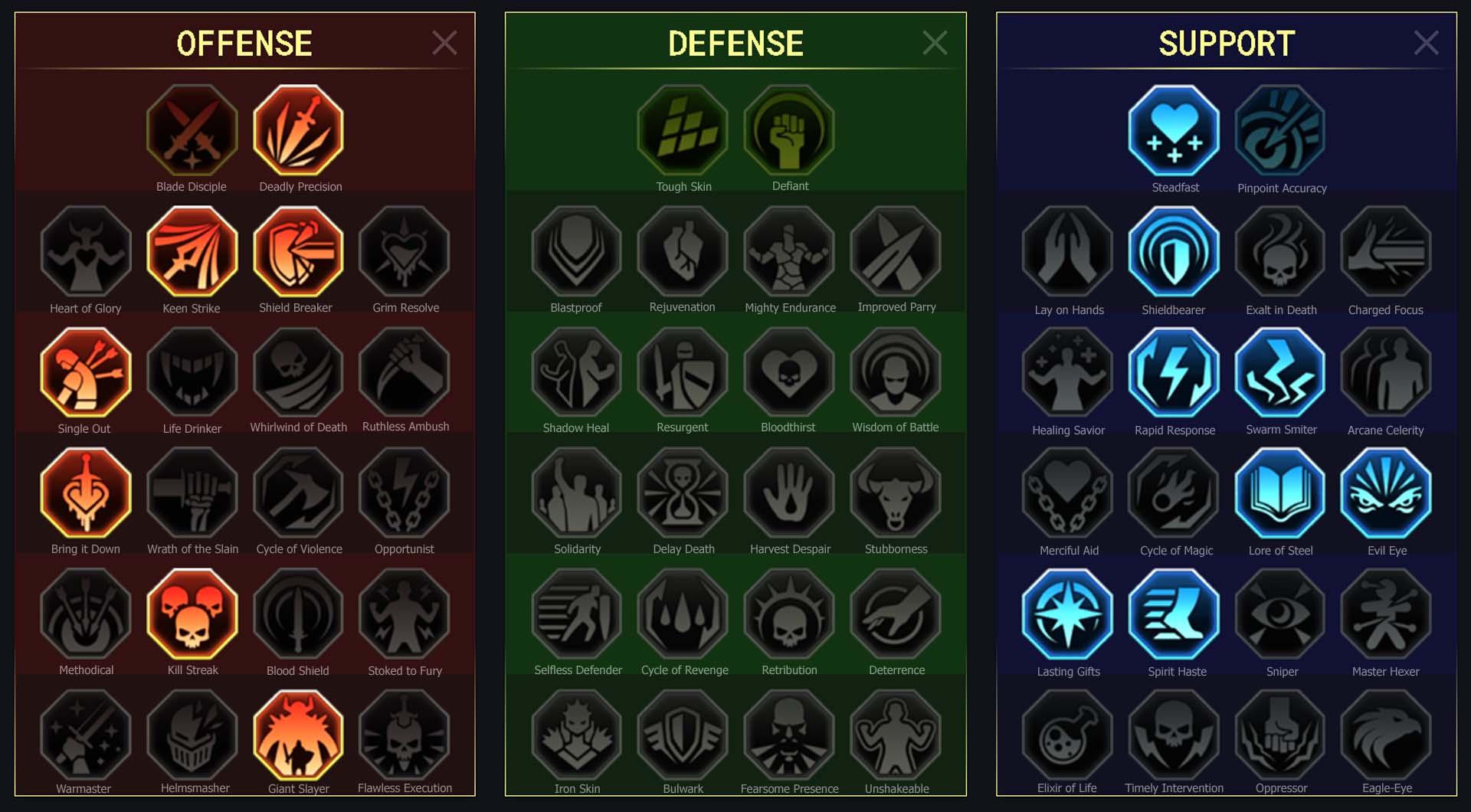 Blind Seer Clan Boss Dungeons