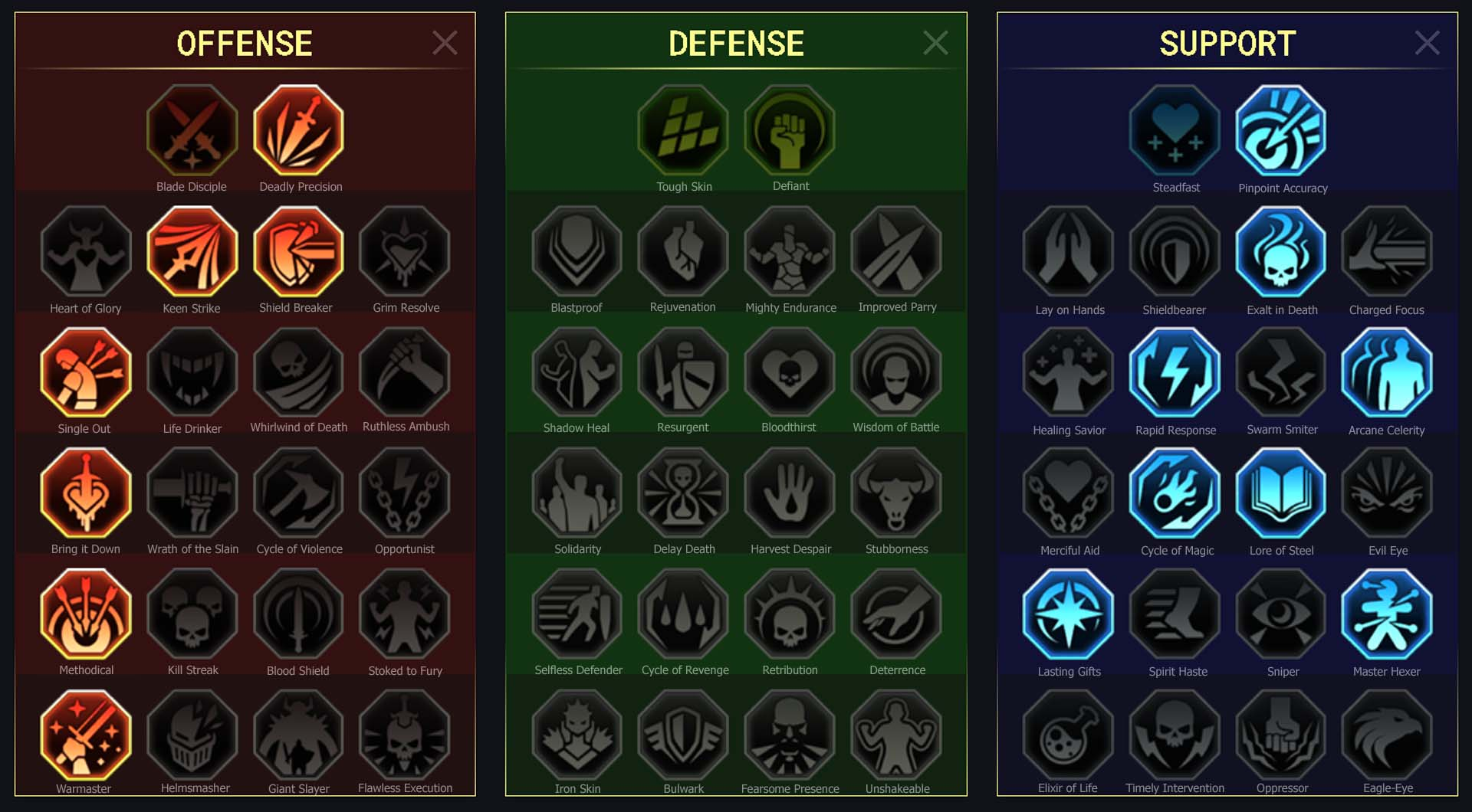 Martyr Arena Campaign Faction Wars
