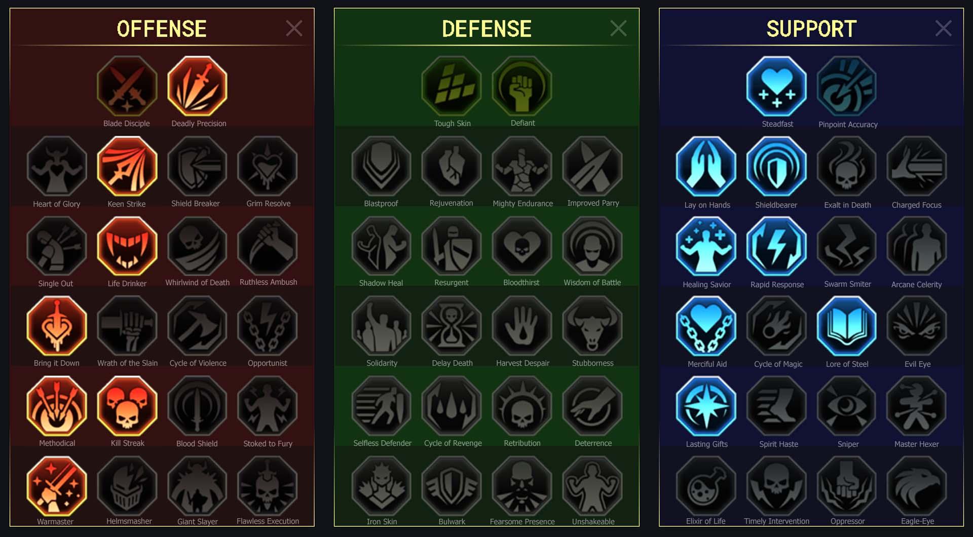 Minaya Arena Campaign Clan Boss Dungeons Faction Wars