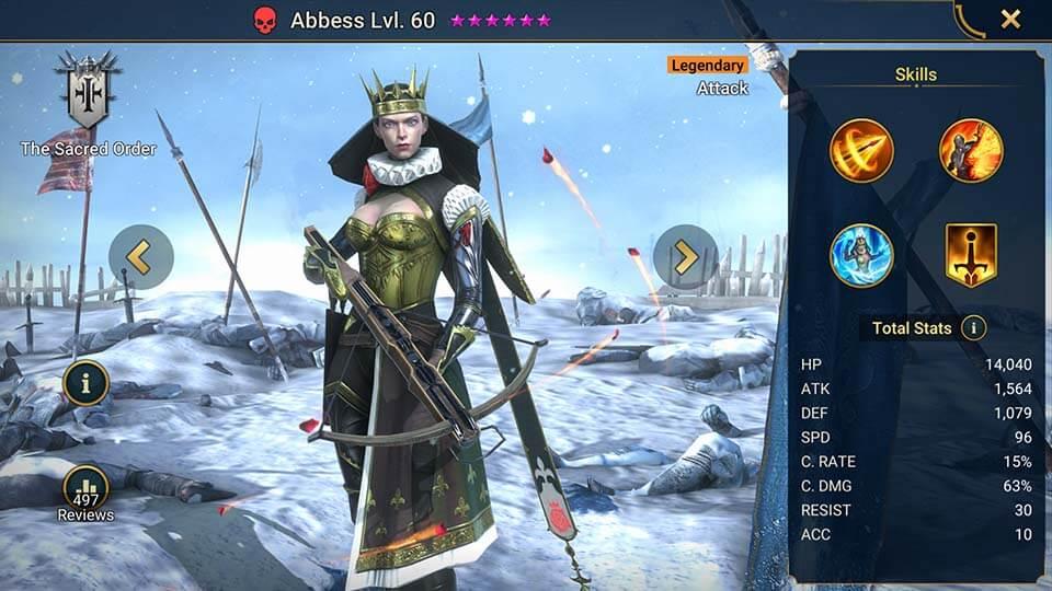 Raid Shadow Legends Abbess