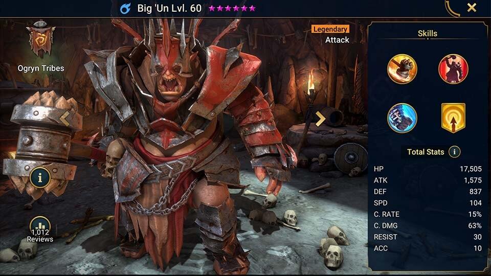 Raid Shadow Legends Big 'Un
