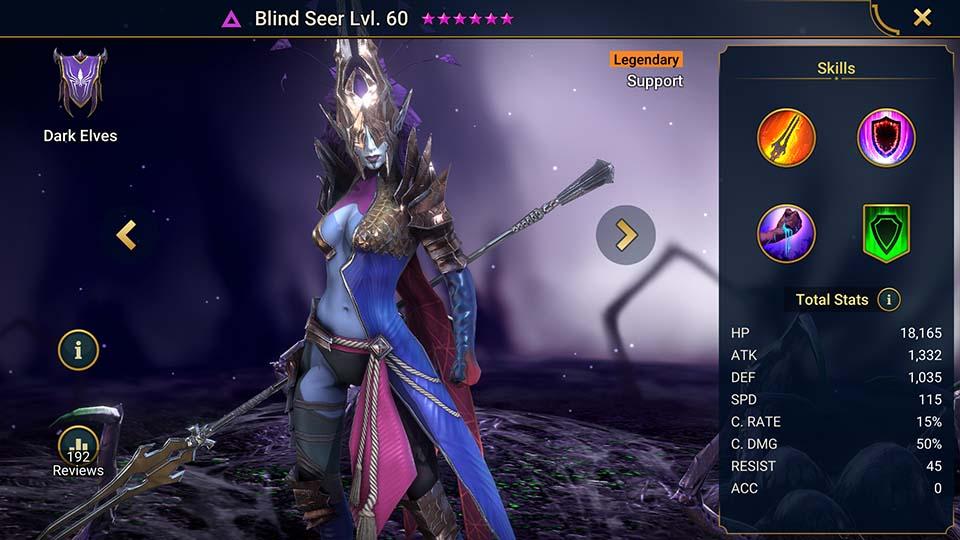 Raid Shadow Legends Blind Seer