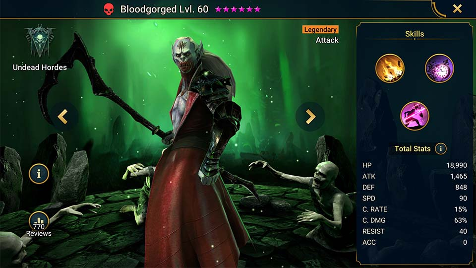 Raid Shadow Legends Bloodgorged