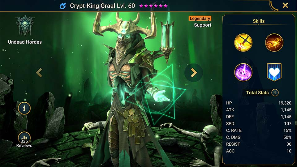 Raid Shadow Legends Crypt-King Graal