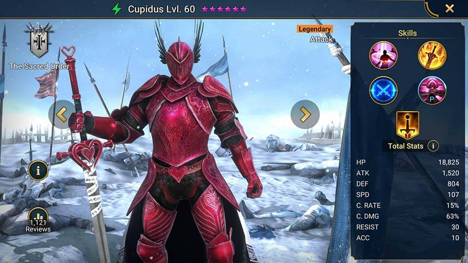 Raid Shadow Legends Cupidus