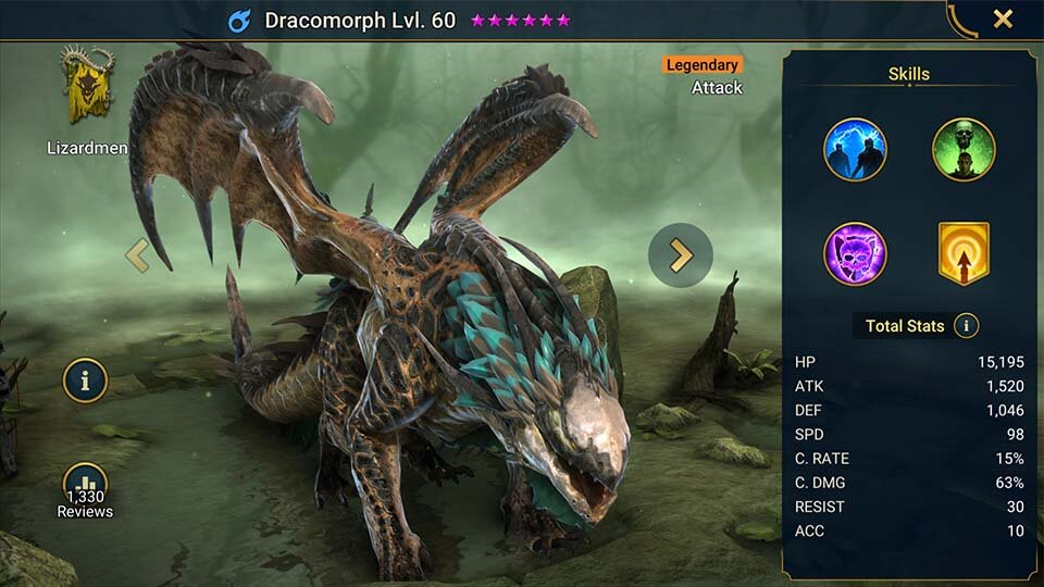 Raid Shadow Legends Dracomorph