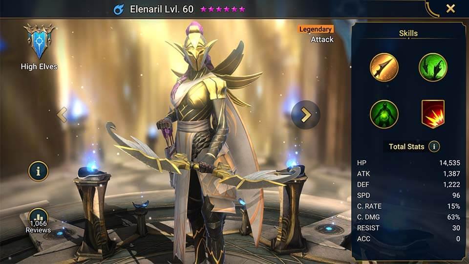Raid Shadow Legends Elenaril
