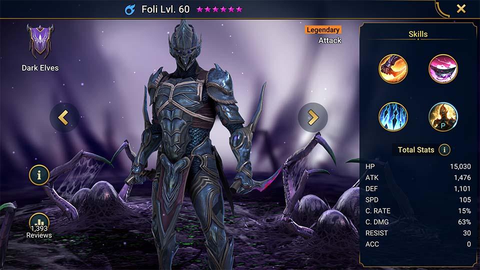 Raid Shadow Legends Foli
