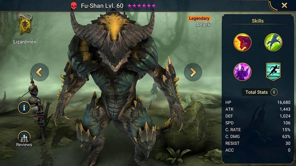 Raid Shadow Legends Fu-Shan