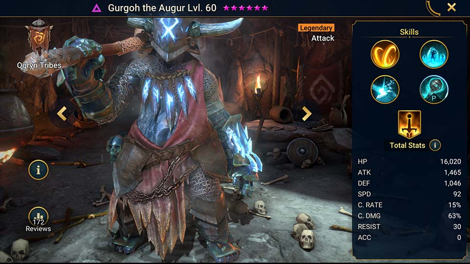 Raid Shadow Legends Gurgoh the Augur