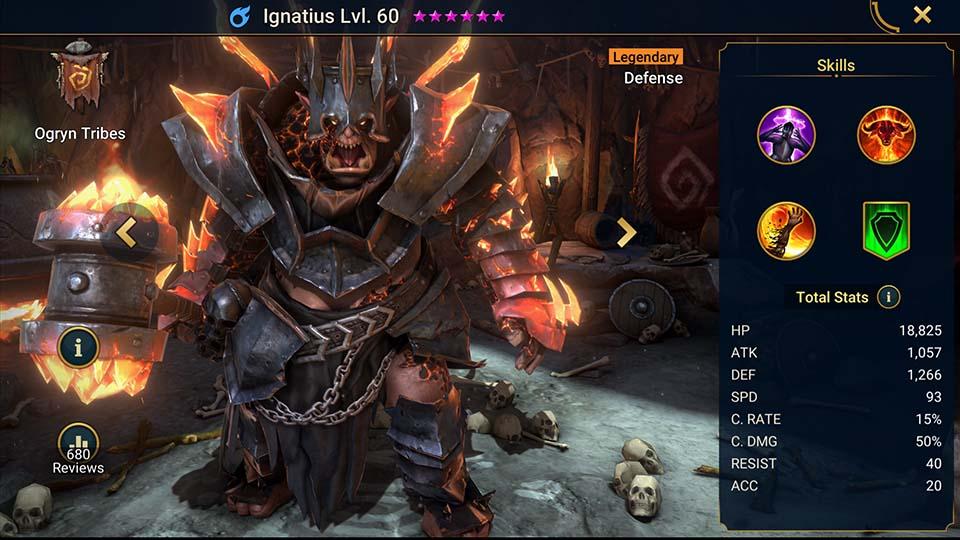 Raid Shadow Legends Ignatius