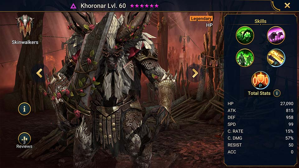 Raid Shadow Legends Khoronar