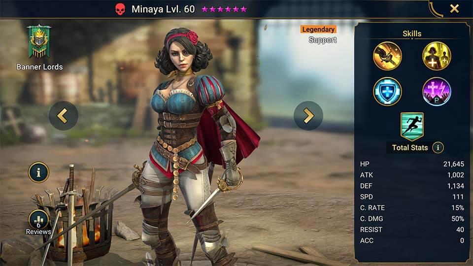 Raid Shadow Legends Minaya