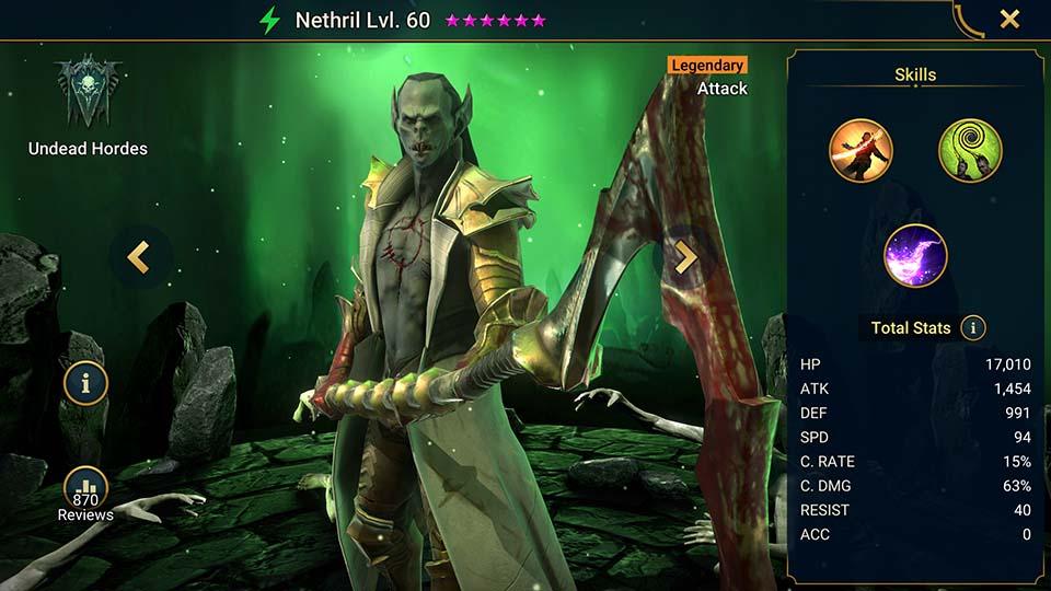 Raid Shadow Legends Nethril