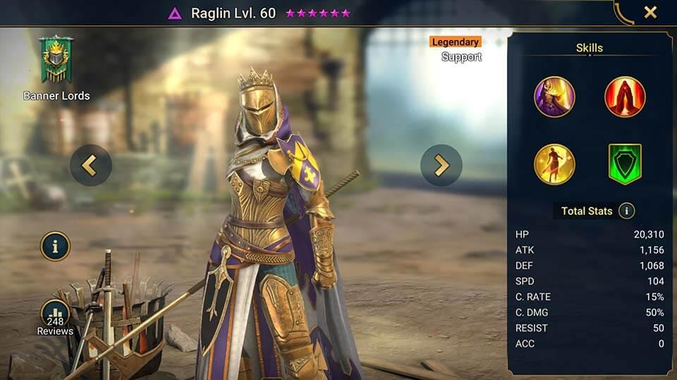 Raid Shadow Legends Raglin