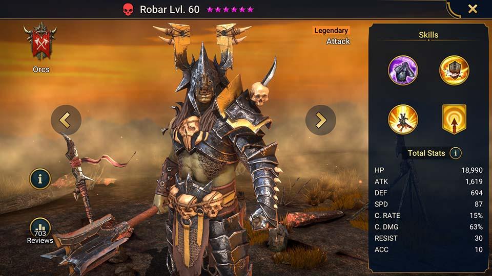 Raid Shadow Legends Robar