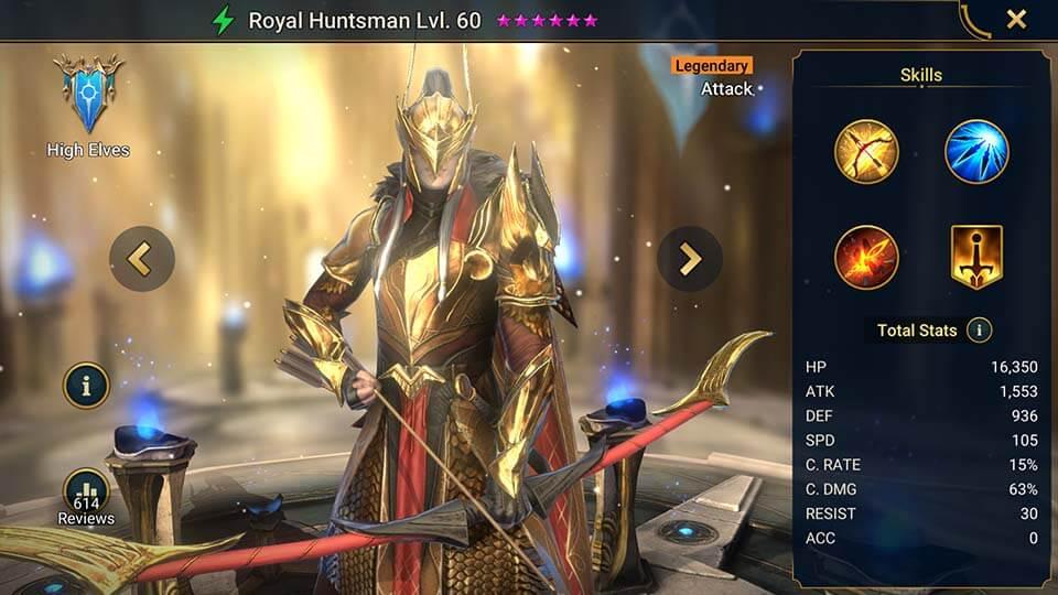 Raid Shadow Legends Royal Huntsman