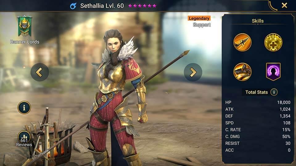 Raid Shadow Legends Sethallia