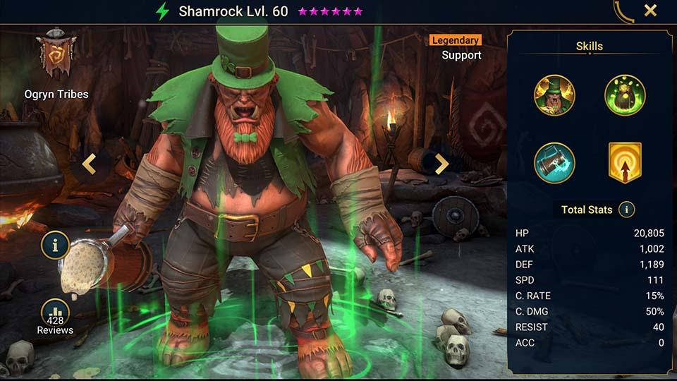 Raid Shadow Legends Shamrock