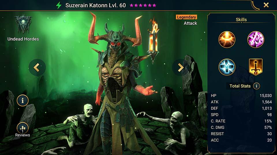 Raid Shadow Legends Suzerain Katonn