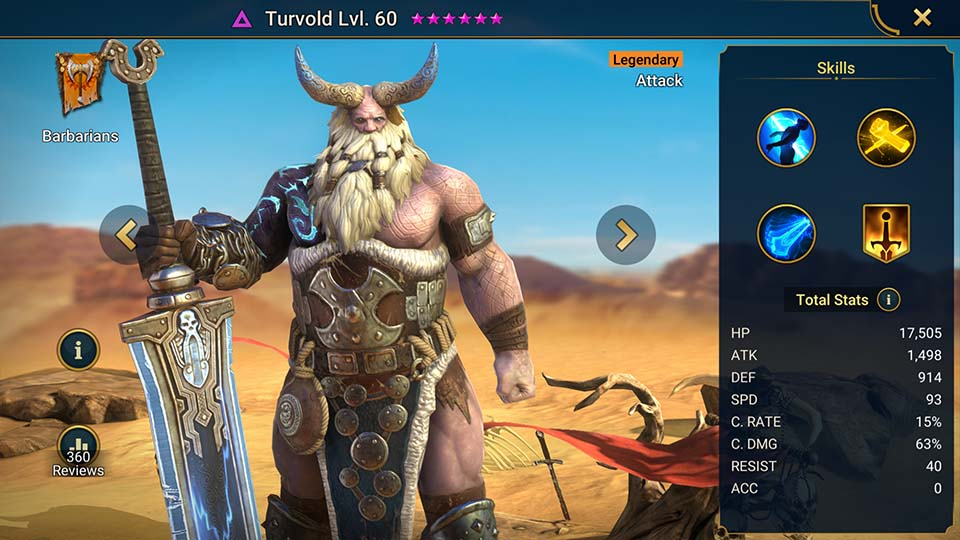 Raid Shadow Legends Turvold