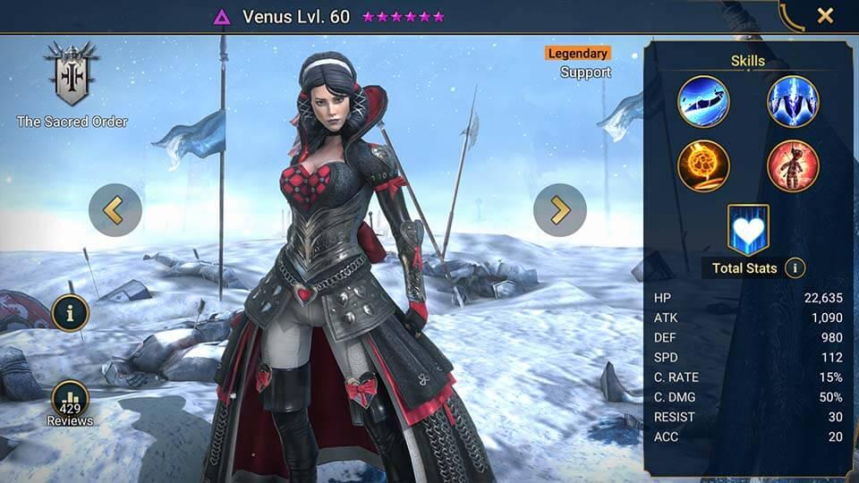 Raid Shadow Legends Venus