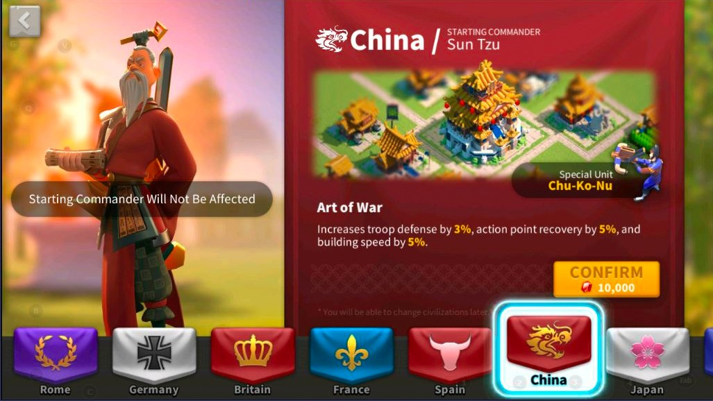 rise of kingdoms china