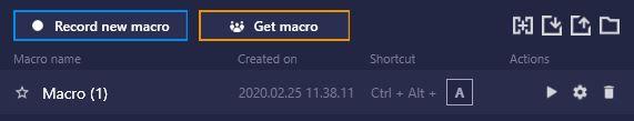 import macro raid 2