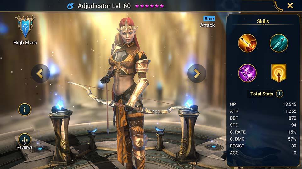 Adjudicator | HE-RAM | Raid Shadow Legends