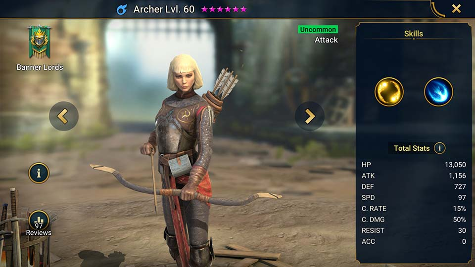 Archer Raid Shadow Legends