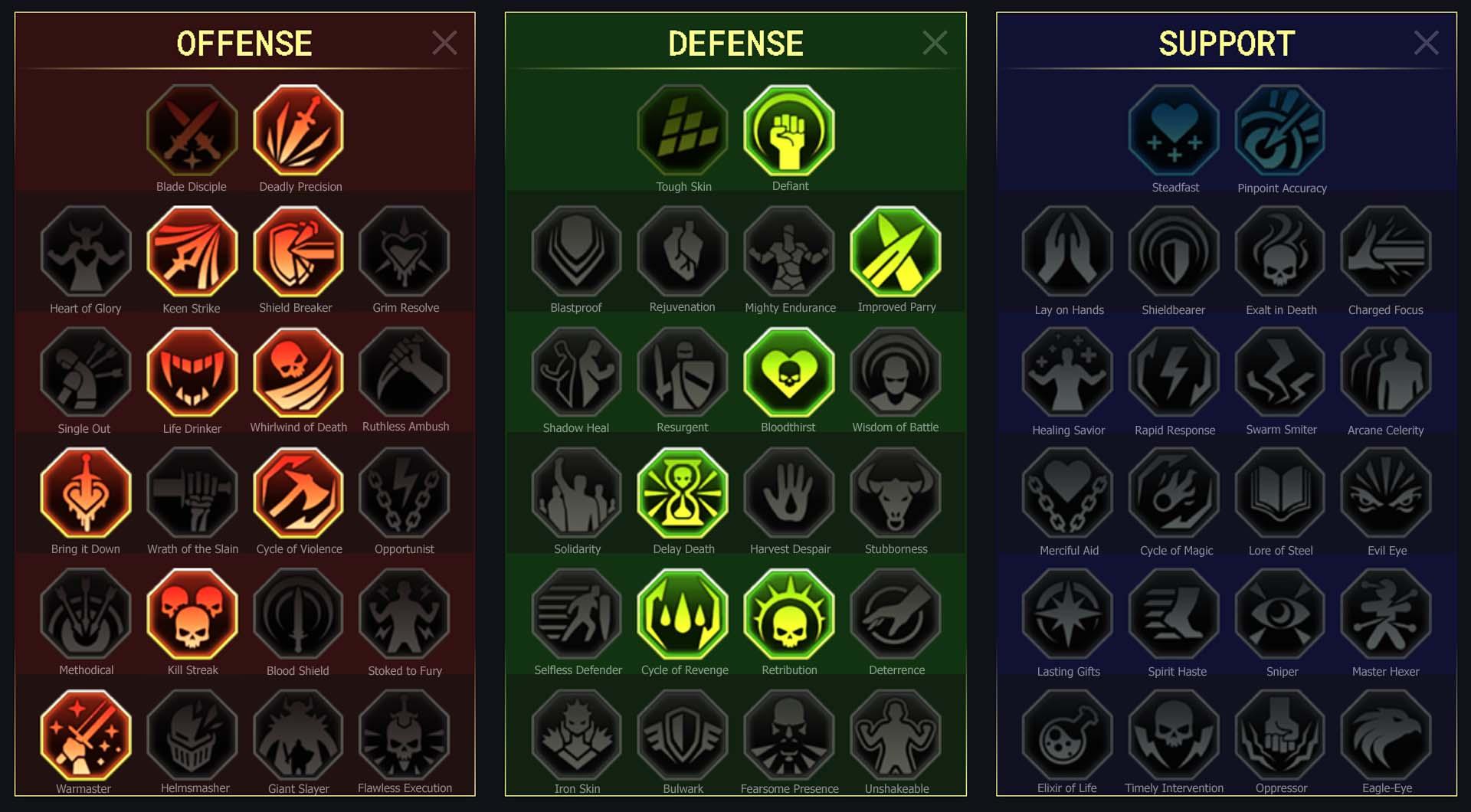 Armiger Arena Campaign Faction Wars