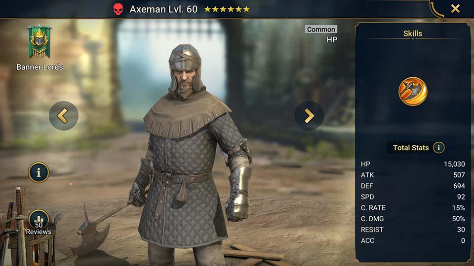 Axeman Raid Shadow Legends