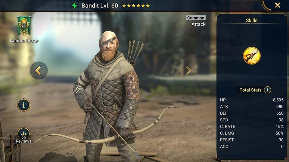 Bandit Raid Shadow Legends