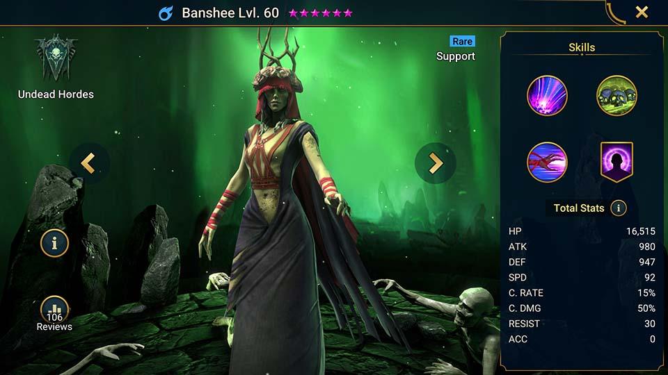 Banshee Raid Shadow Legends