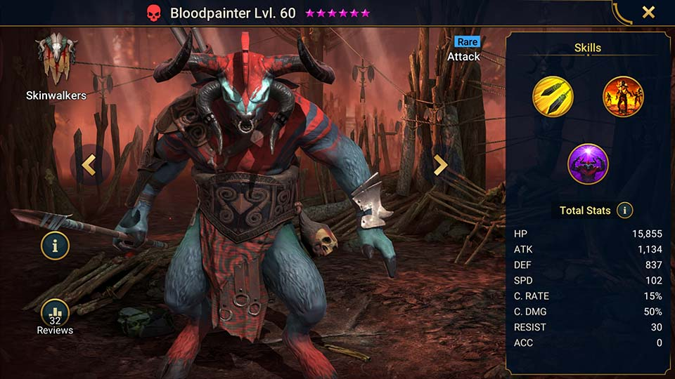 Bloodpainter Raid Shadow Legends