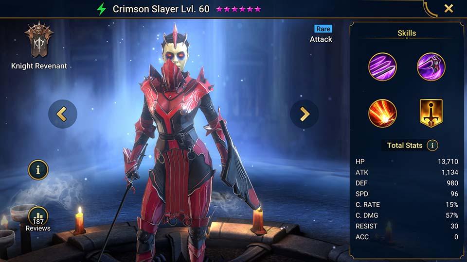 Crimson Slayer Raid Shadow Legends