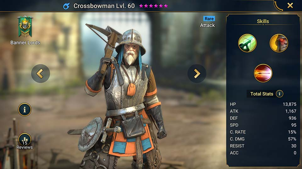Crossbowman Raid Shadow Legends