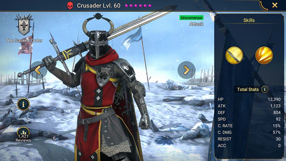 Crusader Raid Shadow Legends