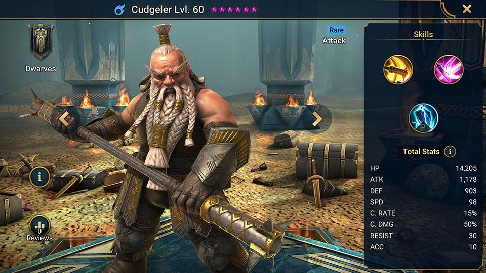 Cudgeler Raid Shadow Legends